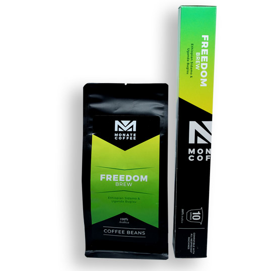 Monate coffee Freedom Brew Coffee
